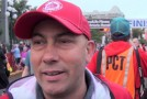 John Halvorsen interview at GoodLife Fitness Victoria Marathon