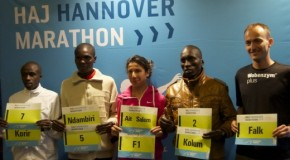 Kenyans target course record in Hannover jubilee marathon race