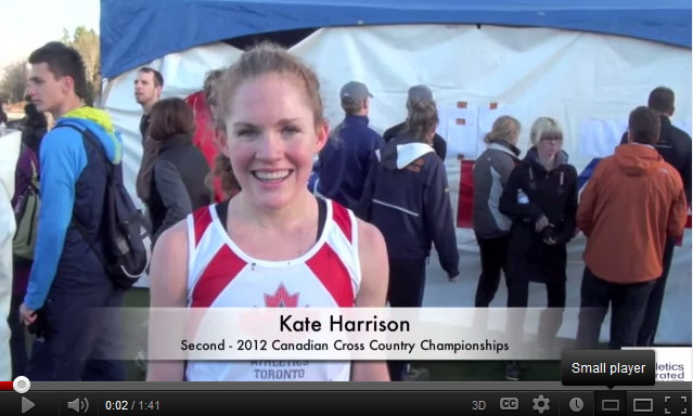 Kate Harrison Interview – Canadian Cross Country Championships