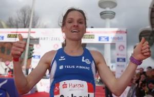 Marathon: Marathon Hamburg 2016, Anja Scherl (GER)