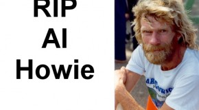 Canada's greatest ultramarathoner, Al Howie, died Tuesday