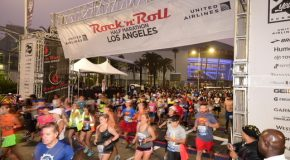 Phillip Reid Rocks Thrilling United Airlines Rock 'n' Roll Los Angeles Half Marathon