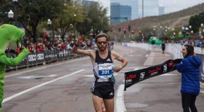 Thomas Puzey and Bailey Drewes Triumph at Rock 'n' Roll Arizona Marathon