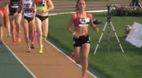 Sarah Inglis's 1500m race at the Canadian Track and Field Championships