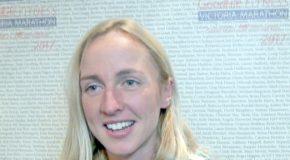 Video interview: Sarah Inglis – winner of the 2017 GoodLife Fitness Victoria Half Marathon