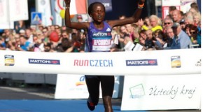 Peres Jepchirchir's rise continues as the young Kenyan smashes event record to win in Usti nad Labem