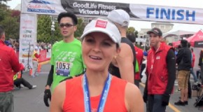Catrin Jones Interview – 2014 GoodLife Fitness Victoria Marathon