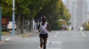GoodLife Fitness Victoria Marathon: Kipkoech and Kortchaguina Prevail