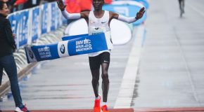 Eliud Kipchoge and Mary Keitany are voted AIMS Marathon Runners of the Year