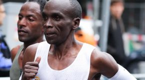 Champion Eliud Kipchoge contemplates return to Berlin in pursuit of World Record