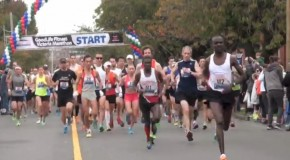 Daniel Kipkoech's 2014 GoodLife Victoria Marathon Video