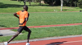 Nineteen year old Leonard Kipkoech seeking top-level performance in Nairobi