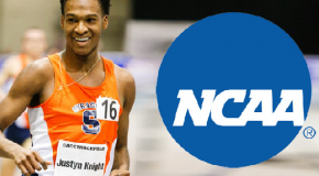 "Justyn Knight NCAA Indoors: ""I am happy with the race, but not satisfied."""