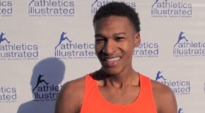 Justyn Knight's Canadian Junior Indoor Mile Record