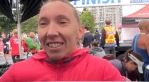 Lioudmila Kortchaguina Interview – 2014 GoodLife Fitness Victoria Marathon