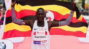 Passion for the Marathon still fires 2012 Olympic gold medallist Stephen Kiprotich