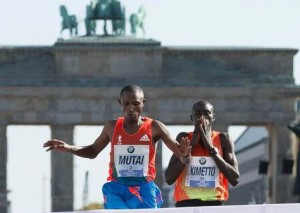 Mutai and Kimetto - Berlin Marathon