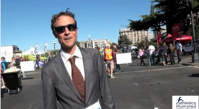 World Marathon Record – While Wearing a business suit
