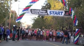 GoodLife Fitness Victoria Marathon Video – lead runners