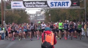 2016 GoodLife Fitness Victoria Marathon – leaders