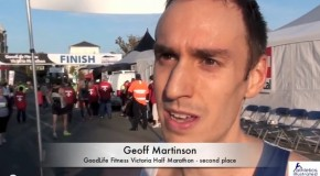 Geoff Martinson Interview – 2013 GoodLife Fitness Victoria Half Marathon