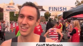 Geoff Martinson Interview – 2014 GoodLife Fitness Victoria 8K