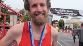 Ed McCarthy Interview – 2014 GoodLife Fitness Victoria Marathon