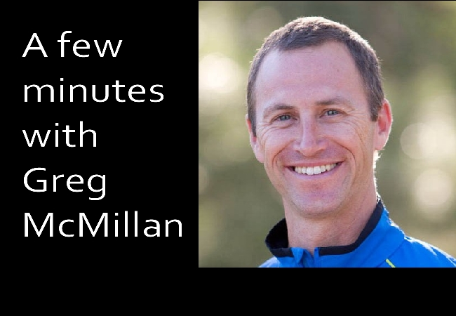 A few minutes with Greg McMillan