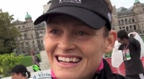 Melanie McQuaid Interview – 2014 GoodLife Fitness Victoria 8K