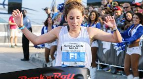 Allison Mendez Triumphs in Spectacular Humana Rock 'n' Roll Dallas Half Marathon