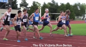 The Q's Victoria Run Series – Men's 1500m – June 28th