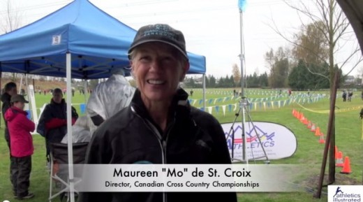 "Maureen ""Mo"" de St. Croix – Interview – BC Cross Country Championships"