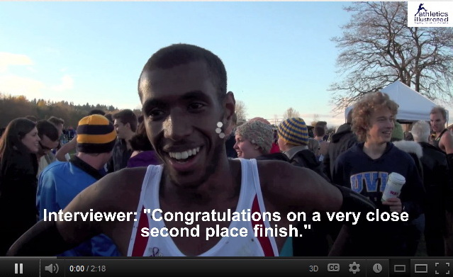 Mo Ahmed Interview – Canadian Cross Country Championships