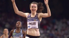 "Laura Muir is on fire, ""when I was younger I never even dreamed I would be where I am now in my athletics career"""