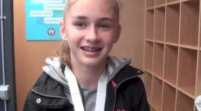 Brooke Mussche interview – 2015 BC High School Cross Country Championships