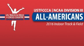 NCAA Division III Indoor All-Americans Announced