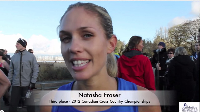 Natasha Fraser Interview- Canadian Cross Country Championships