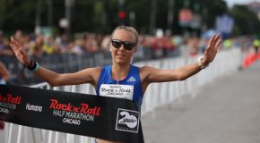 Neely Spence Gracey Repeats Win at Humana Rock 'n' Roll Chicago Half Marathon