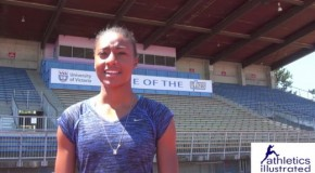 2015 Victoria International Track Classic: Briana Nelson Interview