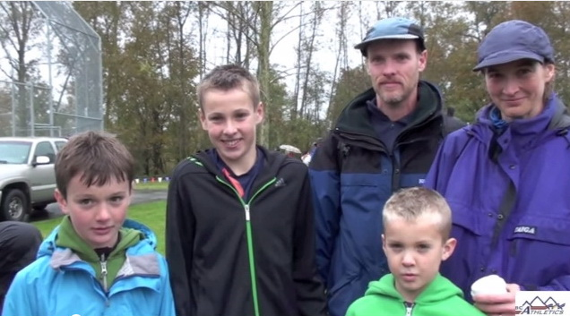 BC Cross Country Championships – Ney Family Interview