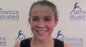 Taryn O'Neill interview – 2015 BC High School Cross Country Championships