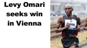 Levy Omari intends to return to winning ways in Vienna
