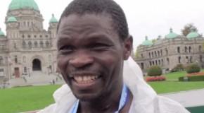 Thomas Omwenga Interview – 2014 GoodLife Fitness Victoria Marathon