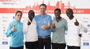 Stephen Kiprotich targets fast time in Hamburg