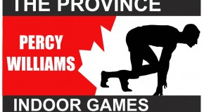 The 2016 Province Percy Williams Indoor Games: Meet information