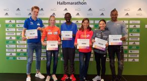 Berlin Half Marathon on Sunday; half marathon time barriers the targets in Berlin