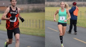 It was the Watson – Wodak show at the 37th annual Prairie Inn Harriers Pioneer 8K