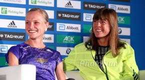 PODCAST: ANNA HAHNER AND GERMAN MARATHON LEGEND UTA PIPPIG VIDEO INTERVIEW: ABERU KEBEDE AND GLADYS CHERONO