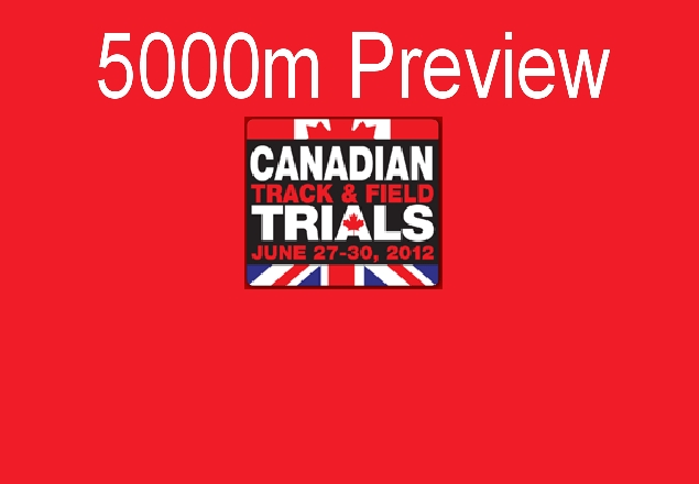 Preview – Canadian Olympic Trials – 5000m