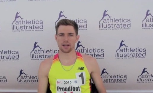 Ross Proudfoot's Canadian Cross Country Championship race